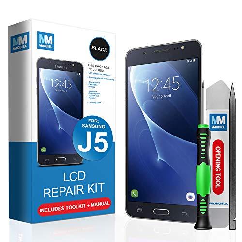 MMOBIEL LCD Display Ersatz kompatibel mit Samsung Galaxy J5 J530F/DS 2017 5.2 Inch (Schwarz) inkl Werkzeug - Pry Tool Elektronik