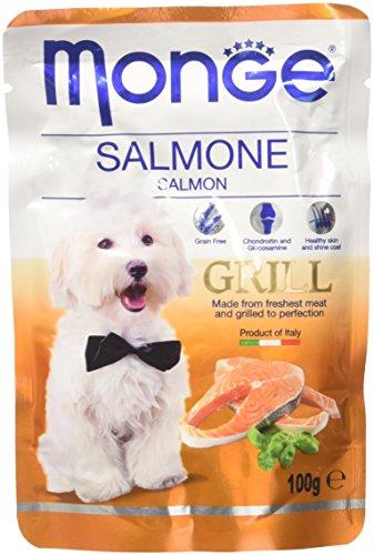 Monge Grill Buste Salmone Gr 100