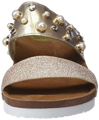 Gioseppo Damen 44412 Peeptoe Sandalen Gold (Oro)