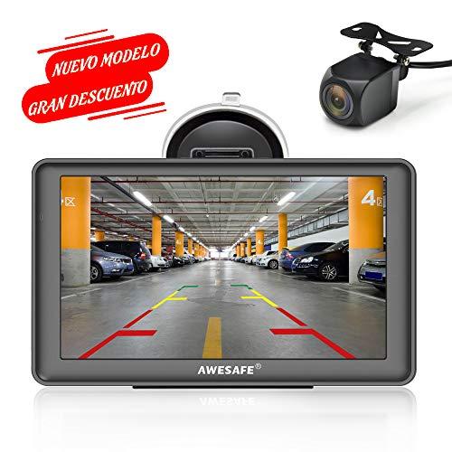 GPS para Coches con 7 Pulgadas Pantalla LCD con Bluetooth y Cámara...