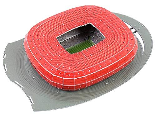 Deutschland München Fußballstadion - 3D Puzzle, JTIH® Bunt