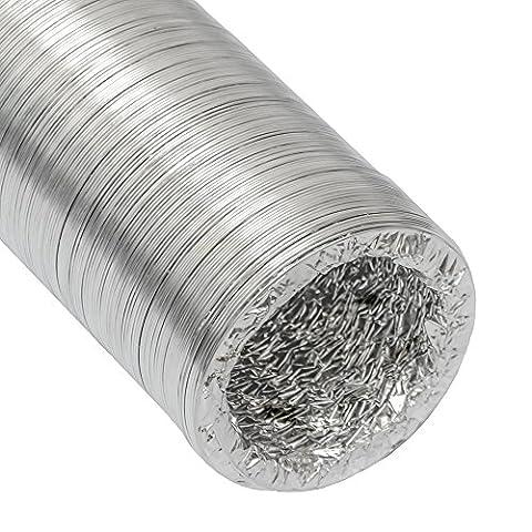 Gaine Aluminium Ø100mm pour hotte extracteur d