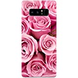 Samsung Note 8 Cases And Covers Pink Rose Being Floral Feeling Floral Designer Printed Hard Shell Case