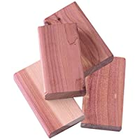Compactor Moth Repellent Cedar Wood Cube for Drawers