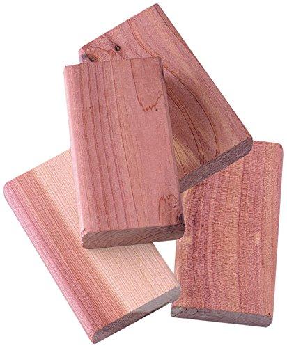 Compactor Zedernholz-Blöcke, 4 Stück