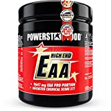 EAA HIGH END - 600g - 100% instantisiert - Alle 8 essentiellen Aminosäuren in reinster, mikrokristalliner Form - !! WELTWEIT HÖCHSTER CHEMICAL SCORE VON 277 !! - MADE IN GERMANY - Fruit Punch