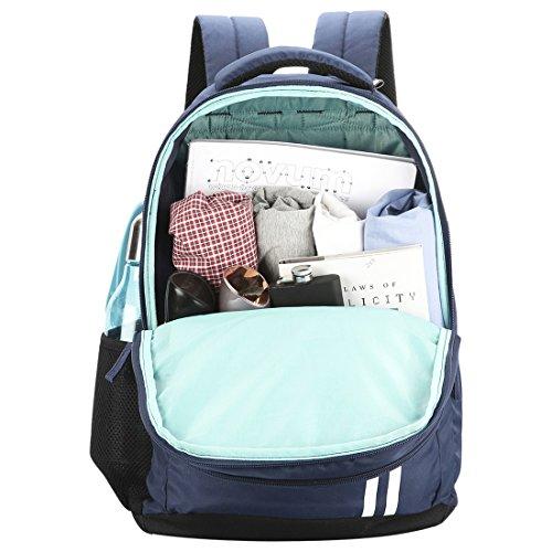 Best safari backpacks in India 2020 Safari 27 Ltrs Navy Blue Casual Backpack (Sport) Image 6