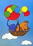 Die Sendung mit der Maus - Die Maus und der Elefant: Luftballons | Poster Kleinformat [30 x 40]
