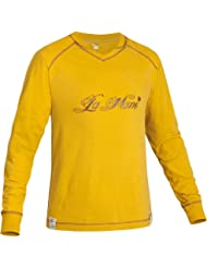 Salewa HE. Local Hero Co L/S té, XXL, amarillo