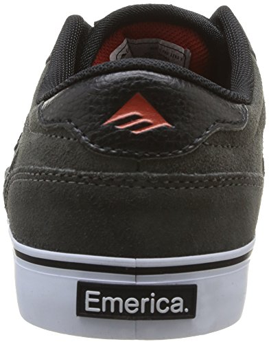 Emerica The Jinx 2, Chaussures de skateboard homme Gris (Grey/Black/Red)