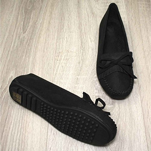 Primtex, Damen Slipper & Mokassins Schwarz