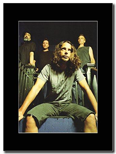 Soundgarden-Band Shot Magazine Promo su un supporto, colore: nero