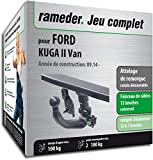Rameder Attelage rotule démontable pour Ford KUGA II Van + Faisceau 13 Broches...