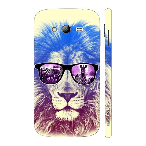 Enthopia Designer Hardshell Case Lion Shades Back Cover for Samsung Galaxy Grand 2  available at amazon for Rs.95