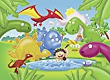 Ravensburger 05611 - Dinosaurier Freunde - My First Outdoor Puzzle