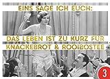 3er-Pack: Postkarte A6 +++ LUSTIG von modern times +++ DAS LEBEN IST ZU KURZ +++ ARTCONCEPT © Shutterstock / Golden Age