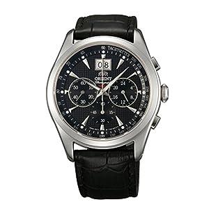 ORIENT Chronomaster TV01004B Reloj de Cuarzo clásico con cronógrafo de