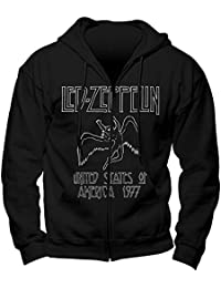 Led zeppelin Sweat à Capuche Led Zeppelin - USA 77