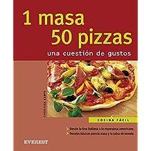 1 masa 50 pizzas. Una cuestión de gustos (Cocina fácil)