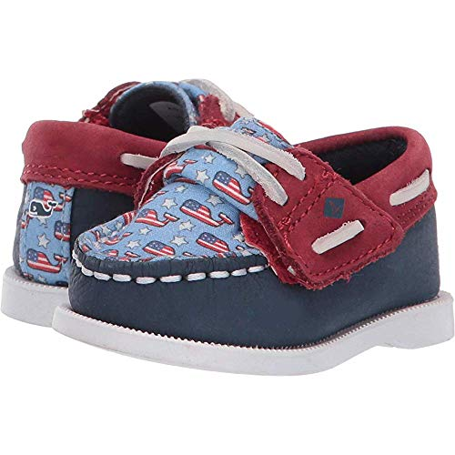 Sweet grape Sperry Kids Baby Boy's Vineyard Vines Authentic Original Crib Jr (Infant/Toddler) 3M (Baby Sperrys Schuhe)