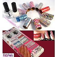 Drake Fab Foils 13 Pcs Salon Style Nail Art Kit