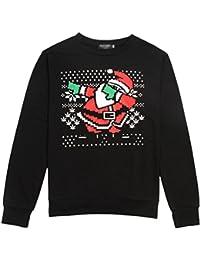 WanYang Manga Larga Deportivas Sudaderas Hombre Sudaderas Baratas Suéter de Navidad Camisetas