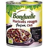 Bonduelle haricots rouges cuisinés façon chili 800g - Prix Unitare - Livraison Gratuit Sous 3 Jours