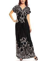 My Evening Dress - Vestido largo veraniego estampado con flores y leopardo