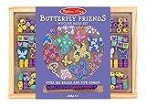 Melissa & Doug Butterfly Friends Bead Set, Multi Color
