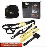 X-TR Similar T-R-X Training Suspension Workout - Suspension d'entraînement - 2ème génération de voyage portable avec corde élastique d'entraînement à la maison en plein air
