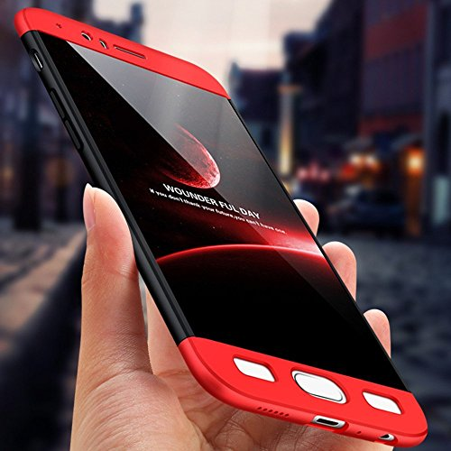 Vanki® Coque OnePlus 5, Ultra Rigide Léger 360 Case Degres Souple 3-en-1 PC Récurer Protector Shell pour OnePlus 5 Noir