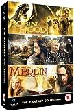 Fantasy Collection - Beowolf Amd Grendel / Merlin Book Of Beasts / Robin Hood [DVD]