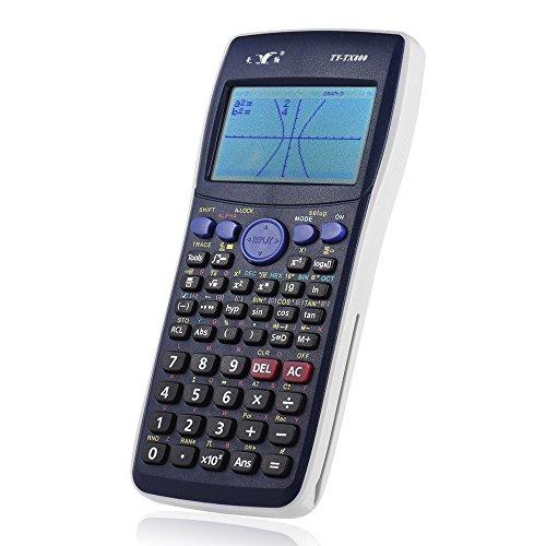 aibecy Graphic Taschenrechner Zähler Unterstützung Bild Matrix Vector Sequence Gleichung Berechnung für SAT/AP Test Student Office Supply
