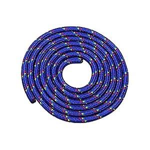 Vinex Seilspringen – Springseil 3 Meter – schönes Muster – blau