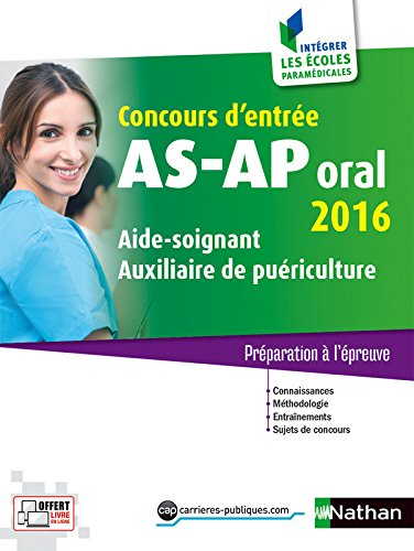 Concours AS-AP oral 2016