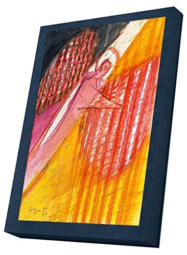 Leuchtende Engel - Kunst-Faltkarten im Schmuckkarton: Zehn Kunstkarten (fünf Motive) mit weißen Umschlägen