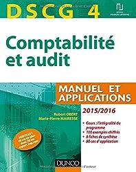 DSCG 4 - Comptabilité et audit - 2015/2016 - 6e éd - Manuel et applications