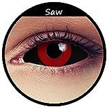 Schwarz rote Tokyo Ghoul Kontaktlinsen 22mm Linsen Halloween Saw Puppen Kostüm Cosplay Larp