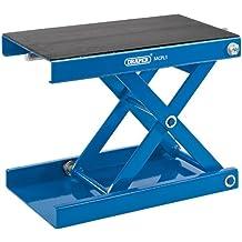 Draper 04991 - Plataforma elevadora para motocicletas (450 kg), color azul