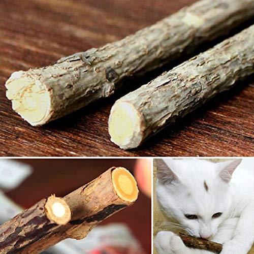 Cat Toys - Pet Product Cat Snacks Stick Cleaning Teeth Sticks Catnip Molar Toothpaste - Sticks Sticker Stick Treat Made Organic Catnip Wall Cats Toys Catnip Product Stick Wooden Mint Tree Tee