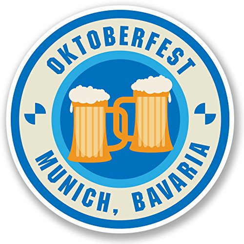 2-x-oktoberfest-munich-bavaria-sticker-car-bike-ipad-laptop-beer-festival-4232-10cm-x-10cm