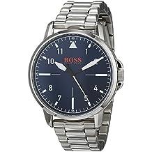 f184f7080a12 Hugo Boss Orange Reloj Analógico para Hombre de Cuarzo con Correa en Acero  Inoxidable 1550063