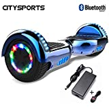 CITYSPORTS Hoverboard 6.5 inch, Balance Board Smart Scooter 2x350W with LED