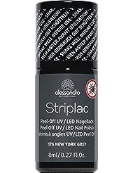 alessandro Striplac 76 New York Grey, 1er Pack (1 x 8 ml)
