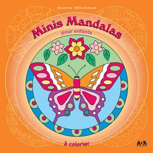 Minis mandalas pour enfants par Joane Michaud