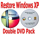 Microsoft Windows XP Home Recovery Restore Repair Boot CD...