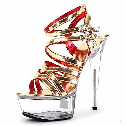 moda-in-pelle-estate-delle-donne-impermeabile-hollow-oro-paillettes-sandali-flash-polvere-di-cristal