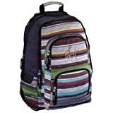All Out Rucksack Louth Waterfall Stripes waterfall stripes