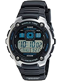 Casio Collection Herrenuhr Digital mit Resinarmband – AE-2000W-1AVEF