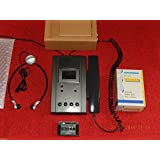 Grundig dt3210Stenorette con fuente de alimentación, micrófono de mano + Auriculares + Láser